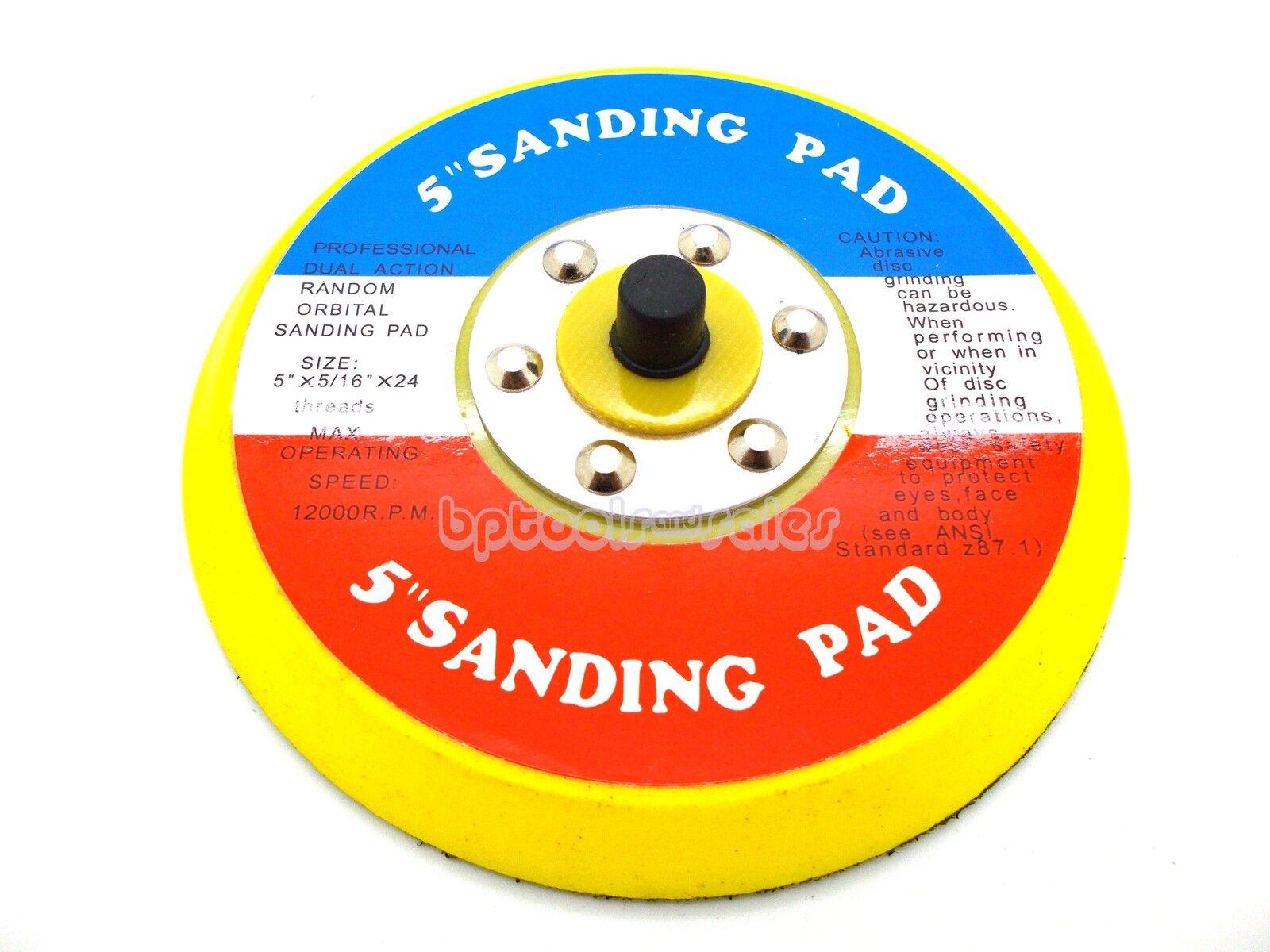 5 Sanding Dual Action Random Orbital Sanding Pad 12000RPM Palm Sander Pad. Available Now for 99.99