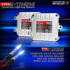 GENSSI Premium AC CANBUS HID KIT 9012 6000K BRIGHT WHITE Xenon Light Conversion