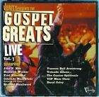 Gospel Greats Live, Vol. 1 by Various Artists (CD, Nov-2004, BMG Special Products)