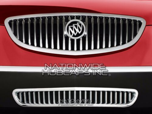 2008-2012 Buick Enclave CHROME Snap On Lower Grille Overlay Bottom Cover Insert