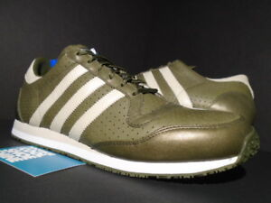 separation shoes 66ef5 f9ae5 2006 ADIDAS GALAXY 3 LEATHER OLIVE GREEN CLAY GREY WHITE ULTRA BOOST ...