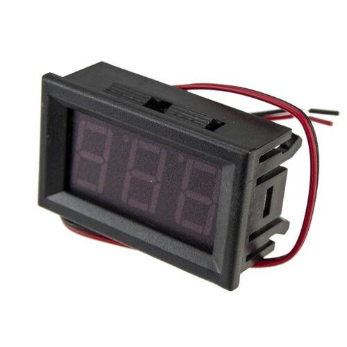 DC 4.5-30V Blue LED Car Digital Display Voltage Voltmeter Panel Gauge Sales