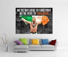 CONOR MCGREGOR QUOTE IRISH FLAG THE NOTORIOUS UFC GIANT WALL PHOTO PRINT POSTER