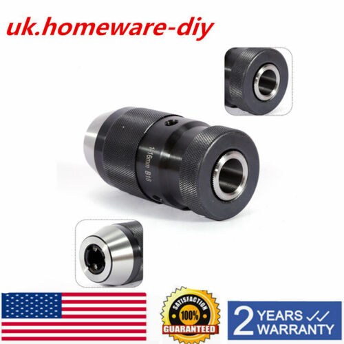 New B18 Drill Chuck For Keyless 1-16MM Lathe Self Tighten Tool Business Durable