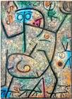 "PAUL KLEE ABSTRACT ART ~ Rumors ~ CANVAS PRINT Poster ~ 8""X 10"""