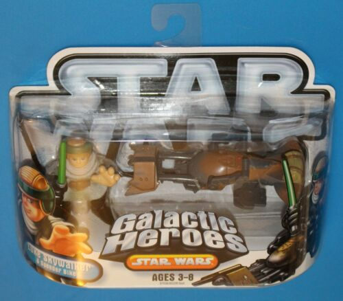 Star Wars Galactic Heroes Hasbro//Playskool 2004-2010 2-Packs Comme neuf on Card New