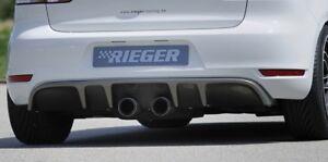 Rieger Heckeinsatz Carbon-Look für VW Golf 6/ GTI/ GTD/ Cabrio