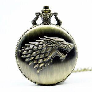 Game-of-Thrones-Stark-House-Crest-Pocket-Watch