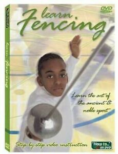 LEARN FENCING   Instructional Video DVD  follow along with expert instructor NEW