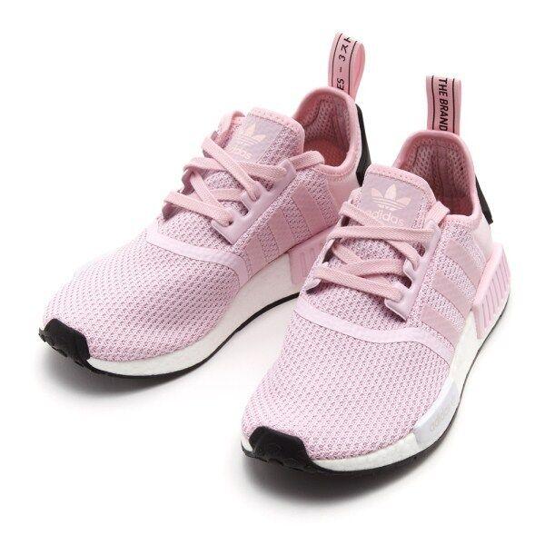 Zapatillas Adidas NMD R1 Core Core R1 Rosa/Blanco/Negro B37648 nos para Mujer 535cbe