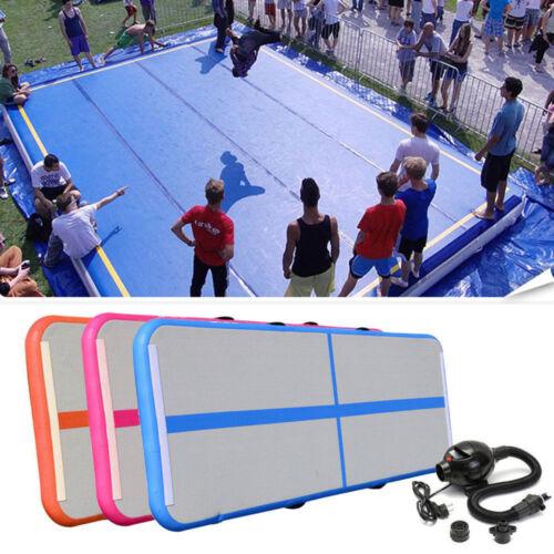 NEW Air Track Floor Home Gymnastics Tumbling Mat Inflatable Air Tumbling GYM  Y