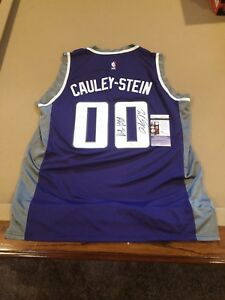brand new 587c3 48441 Details about Willie Caulie Stein Signed Custom Sacramento Kings Jersey w/  JSA COA NBA STAR