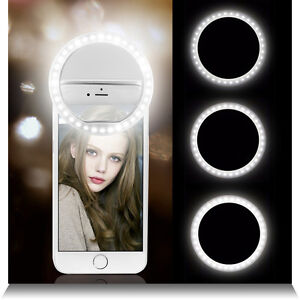 Portable-Selfie-36-LED-Ring-Flash-Fill-Light-Clip-Camera-For-iPhone-Mobile-Phone