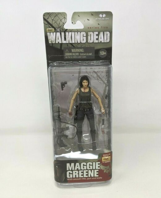"Nouveau McFarlane Toys The Walking Dead Series 5 Maggie Greene 5/"" Action Figure FP20"
