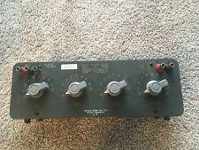 General Radio 1454 A Decade Voltage Divider