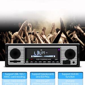 Car-Radio-Player-Stereo-FM-MP3-USB-Phone-Handfree-Audio-Electronics-Autoradio
