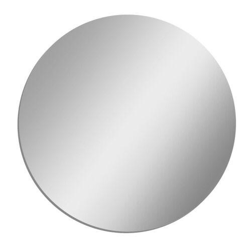 "CLEAR MIRROR ACRYLIC  1//8/"" PLASTIC SHEET CIRCLE DISC 4/"" DIAMETER 4 Pack"