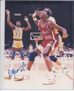 NBA Basketball Danny Manning Clippers autographed signed 8x10 photo