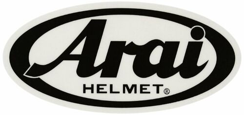 Arai Made in Japan Helmet Sticker 110 x 50mm 121594