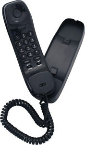 Uniden-FP1100-Black-Wall-Desk-Mountable-Corded-Phone-Power-Failure-OK