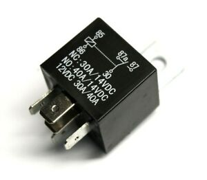 Scosche-12VDC-30A-40A-5-PIN-Universal-Relay-for-Car-Interface