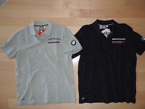 5f84dddfa3c7 BMW Motorsport M Power Puma Shirt Casual Polo Gray Navy Blue ...