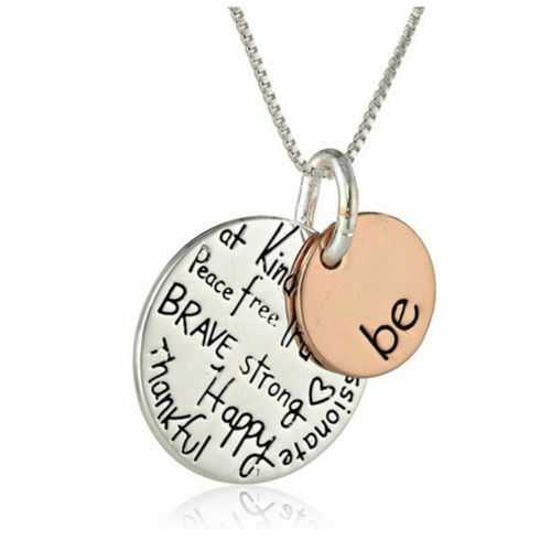 Mom I Love U To The Moon And Back Necklace 925 Sterling Silver Love Holiday Gift