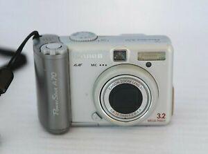 CANON POWERSHOT A70 3.2.0MP appareil photo numérique