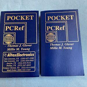 Pocket-PCref-Book-6th-10th-Edition-Sequoia-Pub-1997-2001-2nd-Computer-PC-Manual