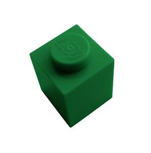 Lego-10-Stueck-Stein-1x1-gruen-green-Steine-Basicsteine-3005-Neu-Basics-City