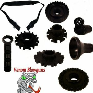 .40 Caliber Blowgun Quiver & Upgrade Kit by Venom Blowguns      MADE IN USA