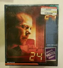 Buffalo Games 24 Jack Bauer 300 Pc Puzzle  Part BUF2321 With Bonus Poster