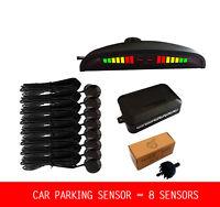 8 Sensors Car LED Parking Sensor Assistance Reverse Backup Radar Monitor System