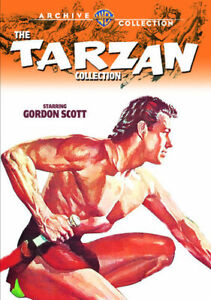 The-Tarzan-Collection-Gordon-Scott-6-Disc-DVD-NEW