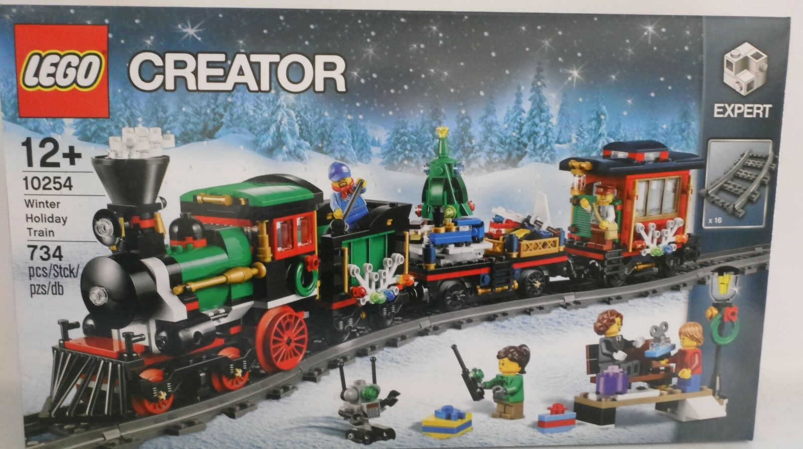 NEU LEGO® CREATOR 10254 Festlicher Weihnachtszug EXPERT OVP