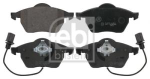 Febi 16447 Bremsbeläge Bremsklötze inkl Warnkontakt Vorderachse für Audi VW