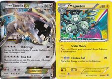 Pokemon Byron Complete Deck - Steelix  - Magneton - Bastiodon- 60 Cards