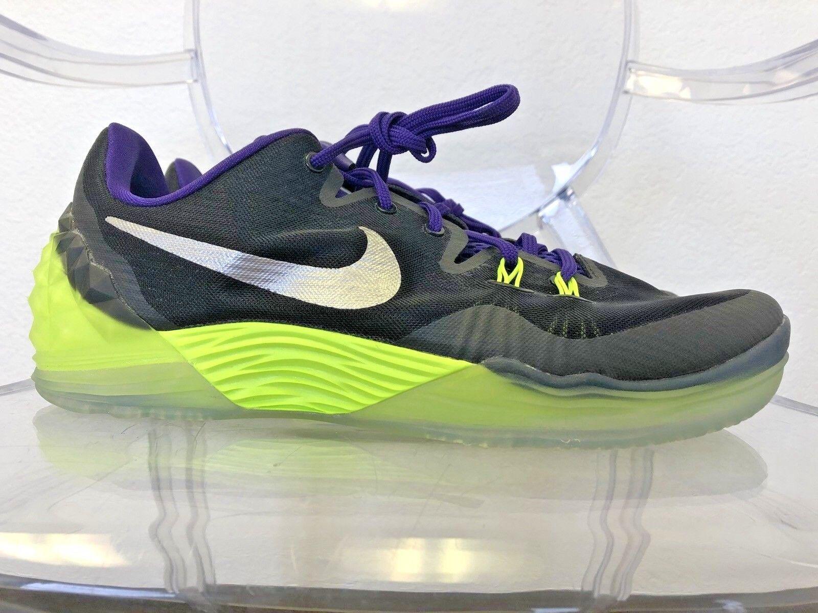 Nike MEN'S ZOOM KOBE VENOMENON 5 Size 10.5 Black Basketball shoes 749884-005