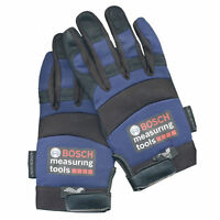 Bosch 2137bl Work Gloves Blue Synthetic Leather Mechanics Armor Skin Large