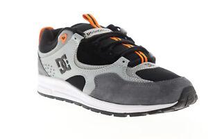 DC-KALIS-Lite-SE-ADYS-100382-Herren-Schwarz-Wildleder-Low-Top-Skate-Sneakers-Schuhe-8