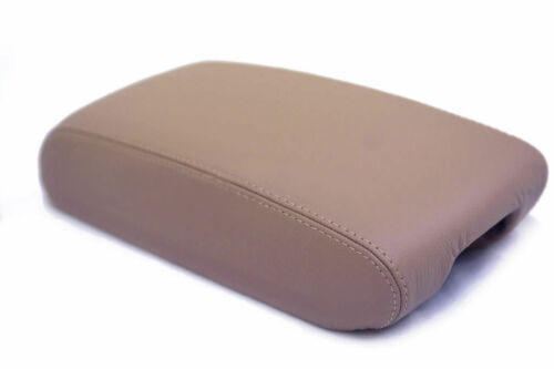 Jeep Grand Cherokee Durango Console Armrest real leather cover beige For 11-19