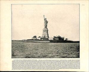Statue-of-Liberty-NEW-YORK-USA-Grand-Canal-Grande-Venice-Italy-1897-PRINT
