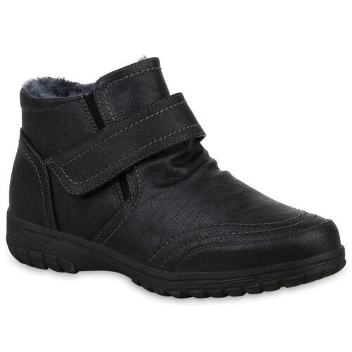 Damen Stiefeletten Winter Boots Warm Gefütterte Outdoor 825102 Schuhe