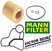 Engine Oil Filter Housing to Engine Block Gasket & 1-Mann Engine Oil Filter