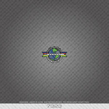07323 CANNONDALE Head Badge Adesivo Bicicletta-Decalcomania-Trasferimento-Bianco