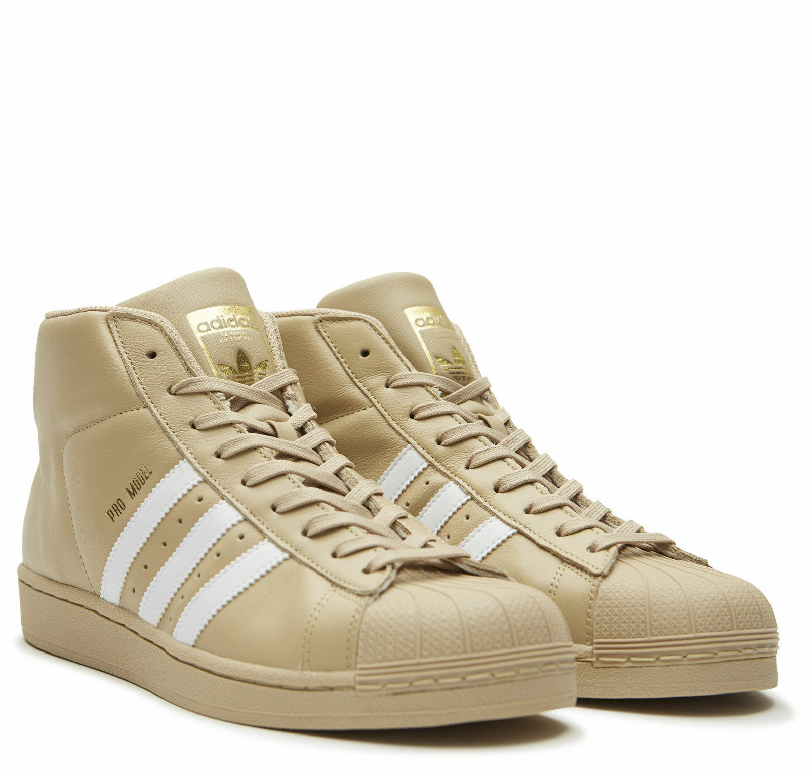 adidas originals männer pro model khaki / gold - männer originals cg5072 9,5 leder 8055e9