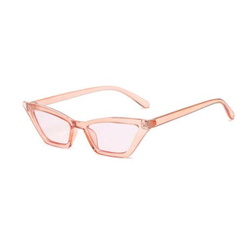 WOMEN VINTAGE CAT EYE SUNGLASSES RETRO SMALL FRAME FASHION SHADES UV400 GLASSES