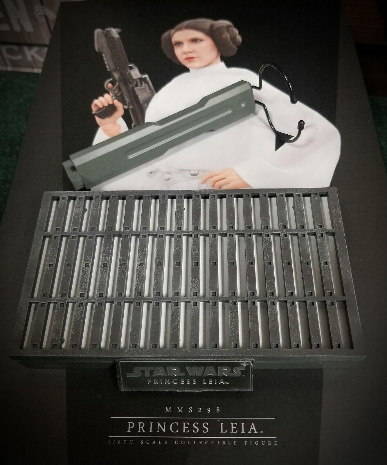 1/6 caliente Juguetes Star Wars Princesa Leia MMS298 Placa de Soporte de exhibición