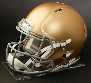 2d795cb2 Details about NOTRE DAME FIGHTING IRISH NCAA Riddell SPEED Full Size  Authentic Football Helmet