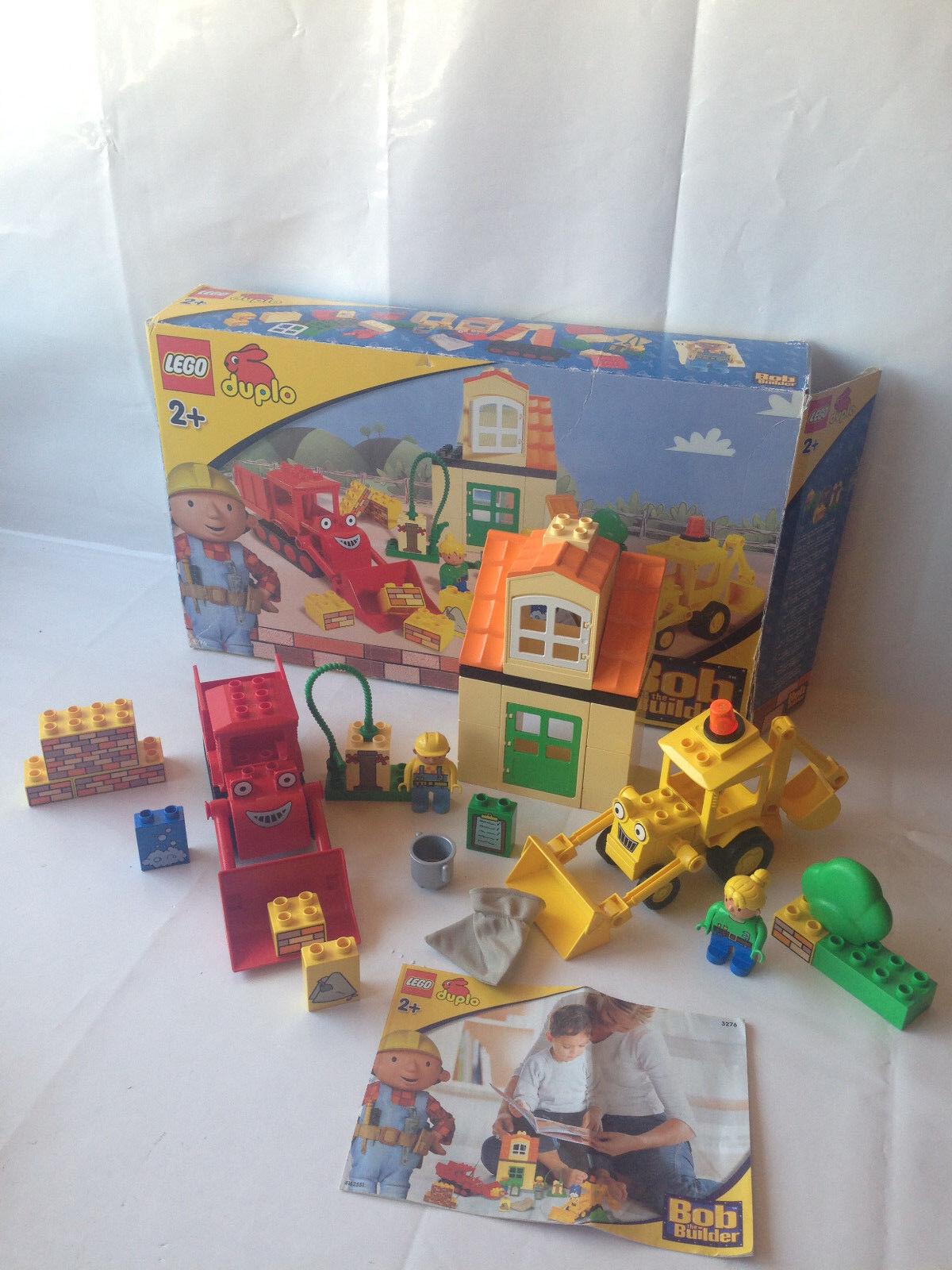 Lego Duplo Bob der Baumeister - Explore Set 3276 - Taschegi & Buddel Waschtag + OVP